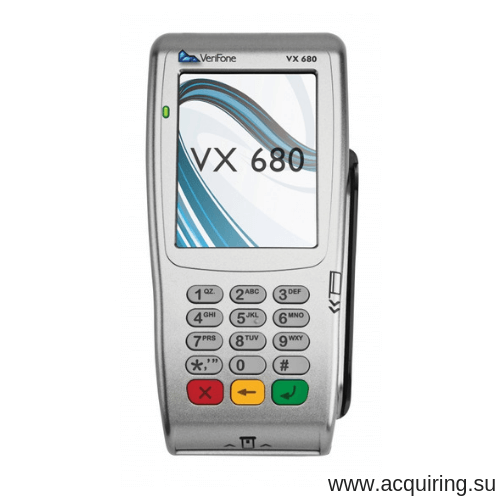 Мобильный POS-терминал Verifone VX680 (Wi-Fi, Bluetooth) под Прими Карту